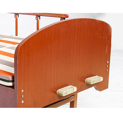 Multi-Function Double Swing Medical Bed Image 20
