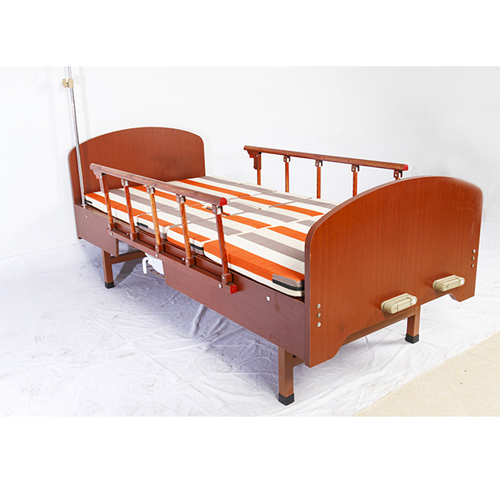 Multi-Function Double Swing Medical Bed Image 2