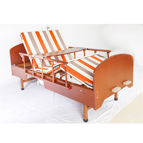 Multi-Function Double Swing Medical Bed Image 3