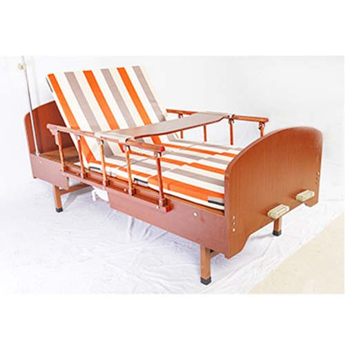 Multi-Function Double Swing Medical Bed Image 4