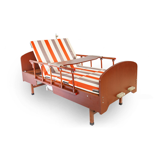 Multi-Function Double Swing Medical Bed Image 6