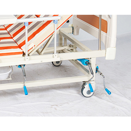 Multifunctional Stand Up Pulley Hospital Bed Image 14