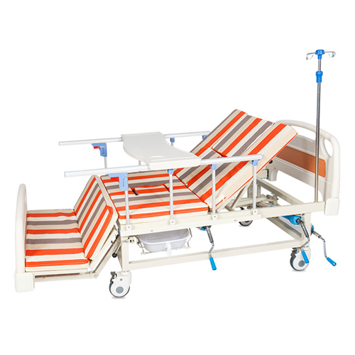 Multifunctional Stand Up Pulley Hospital Bed Image 1