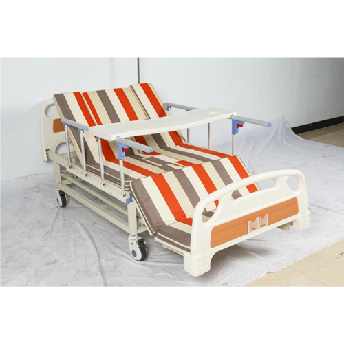 Multifunctional Stand Up Pulley Hospital Bed Image 4