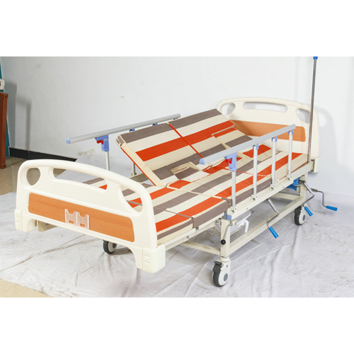 Multifunctional Stand Up Pulley Hospital Bed Image 5