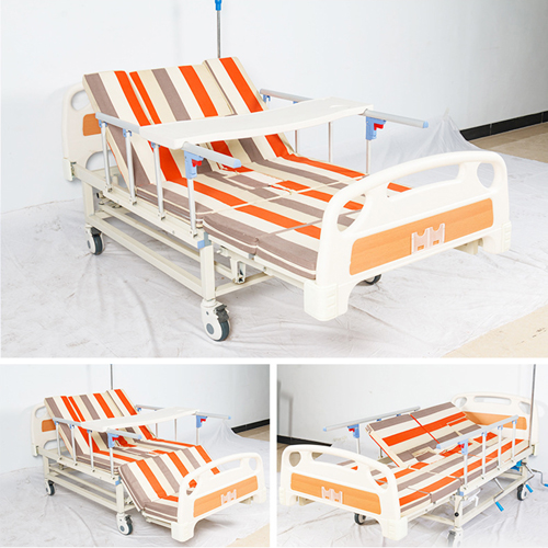 Multifunctional Stand Up Pulley Hospital Bed Image 6