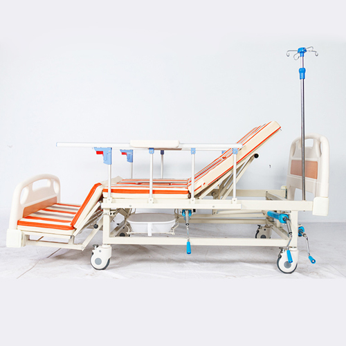 Multifunctional Stand Up Pulley Hospital Bed Image 7