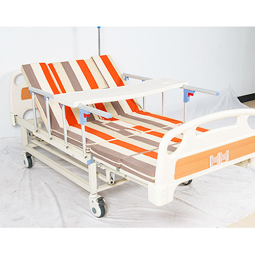 Multifunctional Stand Up Pulley Hospital Bed Image 8