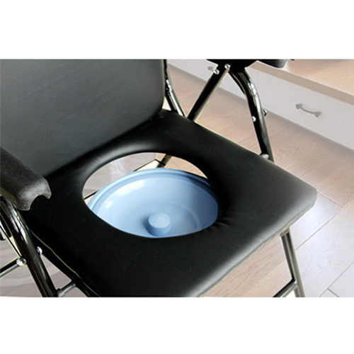 Cryo Stainless Steel Folded Toilet Chair Image 13