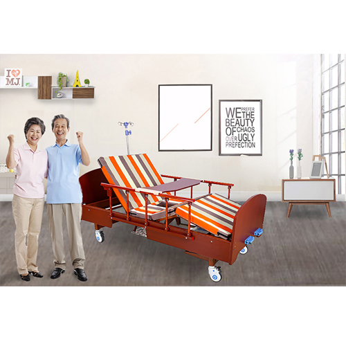 Multifunctional Wooden Nursing Hospital Bed Image 10