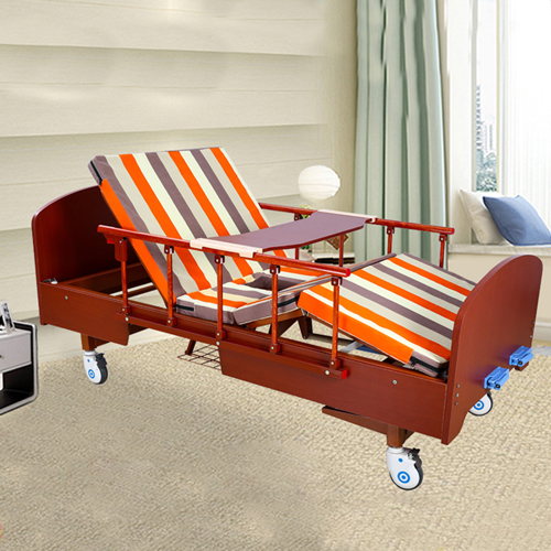 Multifunctional Wooden Nursing Hospital Bed