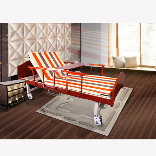 Multifunctional Single-Roll Nursing Hospital Bed Image 9