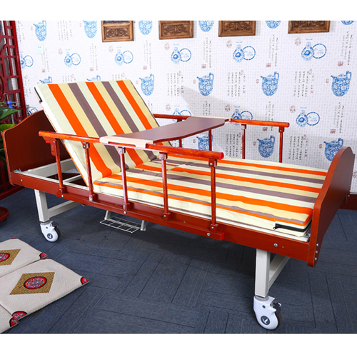 Multifunctional Single-Roll Nursing Hospital Bed Image 1