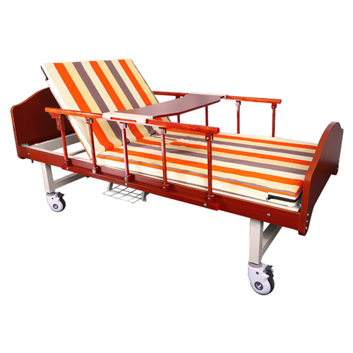 Multifunctional Single-Roll Nursing Hospital Bed Image 4