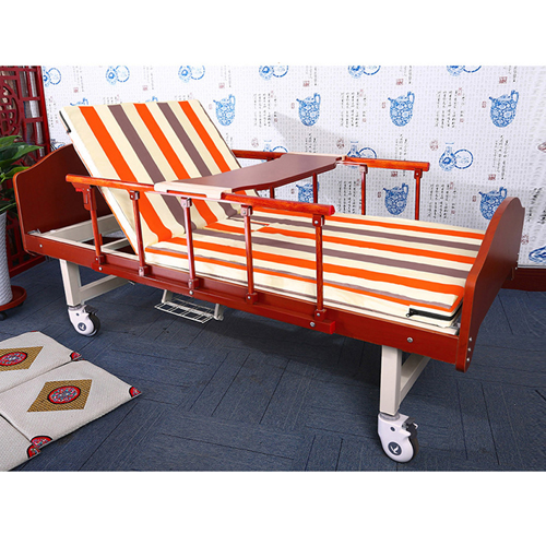 Multifunctional Single-Roll Nursing Hospital Bed Image 5