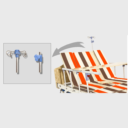 Elite Multifunctional Stand Up Patient Hospital Bed Image 11