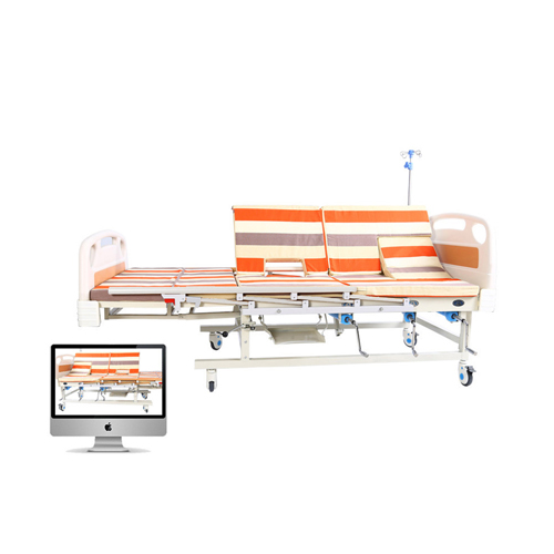 Elite Multifunctional Stand Up Patient Hospital Bed Image 6