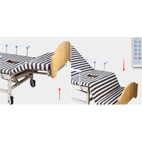 Multifunctional Electric Nursing Bed With Remote Image 8