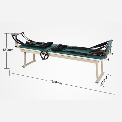 Manual Lumbar Traction Bed