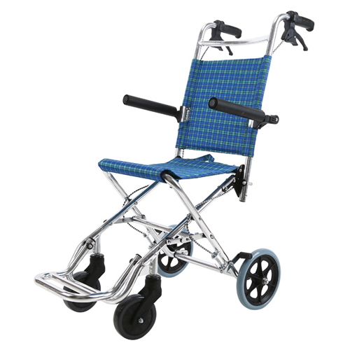 Aircraft Lightweight Foldable Wheelchair Image 1