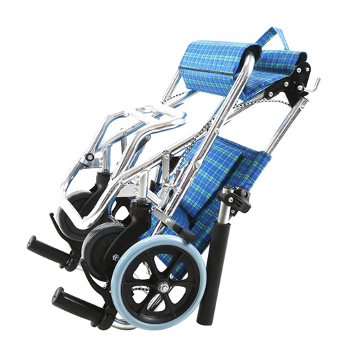 Aircraft Lightweight Foldable Wheelchair Image 4
