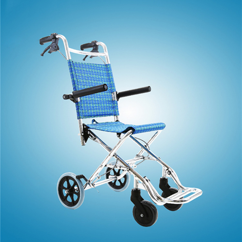 Aircraft Lightweight Foldable Wheelchair Image 7