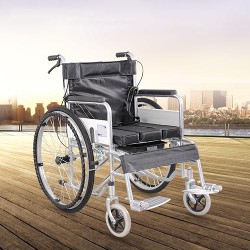 Manual Portable Folding Wheelchair Image 3