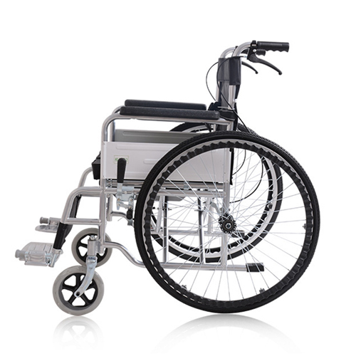 Manual Portable Folding Wheelchair Image 4
