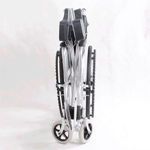 Manual Portable Folding Wheelchair Image 6