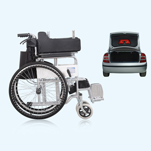 Manual Portable Folding Wheelchair Image 7