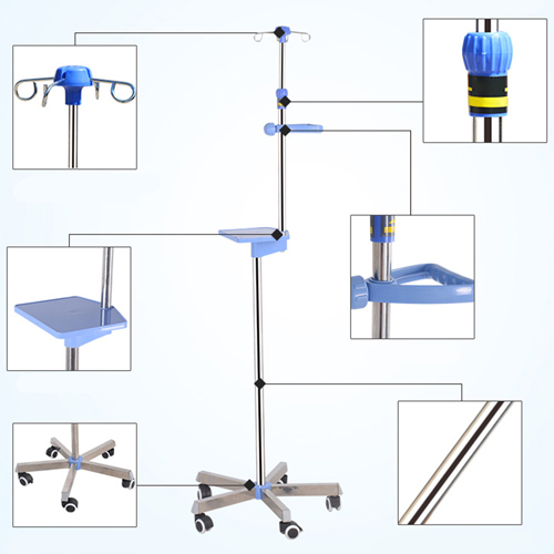 Retractable Multi-Function Infusion Stand Image 31