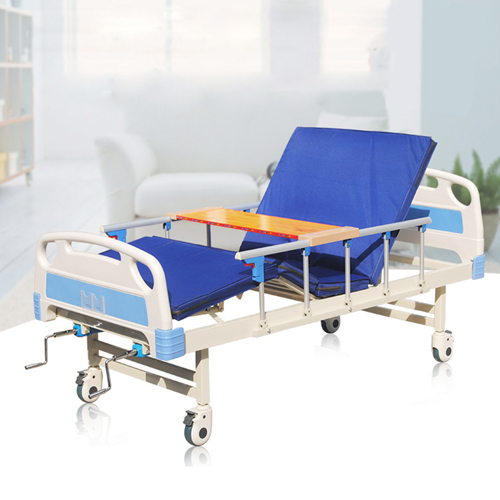 Double Shake Hand-Cranked Medical Bed Image 9