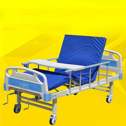 Double Shake Hand-Cranked Medical Bed