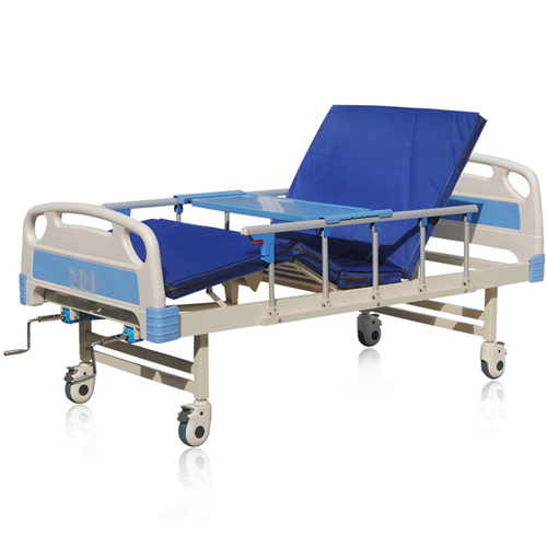 Double Shake Hand-Cranked Medical Bed Image 1