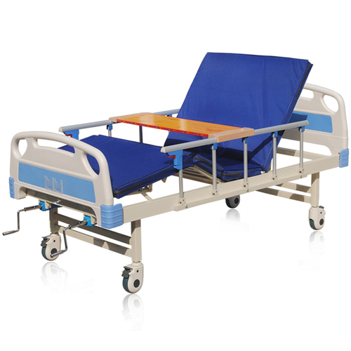 Double Shake Hand-Cranked Medical Bed Image 2