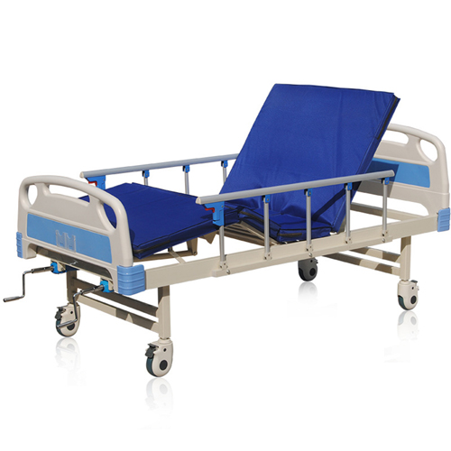 Double Shake Hand-Cranked Medical Bed Image 3