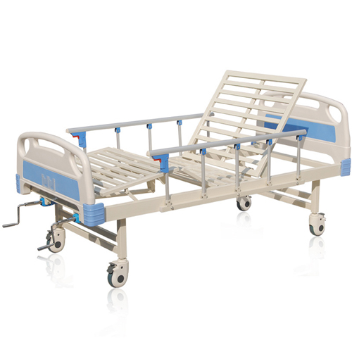 Double Shake Hand-Cranked Medical Bed Image 4