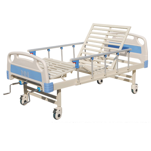 Double Shake Hand-Cranked Medical Bed Image 6