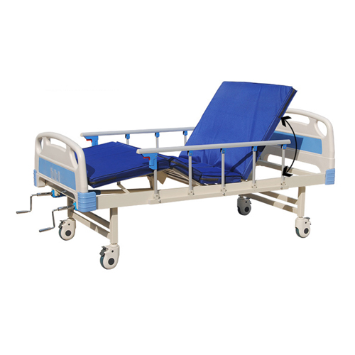 Double Shake Hand-Cranked Medical Bed Image 8