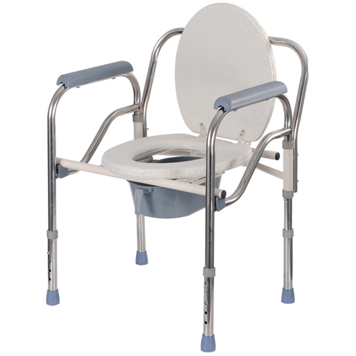 Stainless Steel Imitation Toilet Chair Image 1