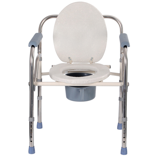 Stainless Steel Imitation Toilet Chair Image 2