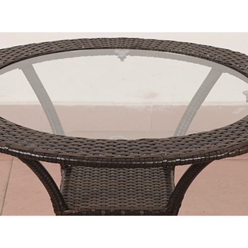 Outdoor Wicker 5 Piece Chair Set Image 9