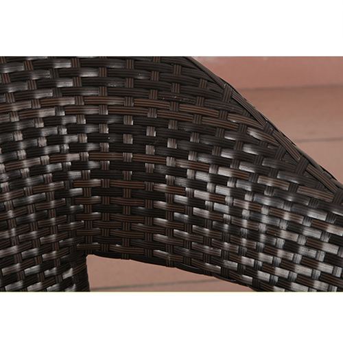 Outdoor Wicker 5 Piece Chair Set Image 10