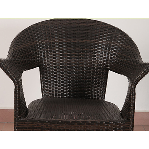 Outdoor Wicker 5 Piece Chair Set Image 7