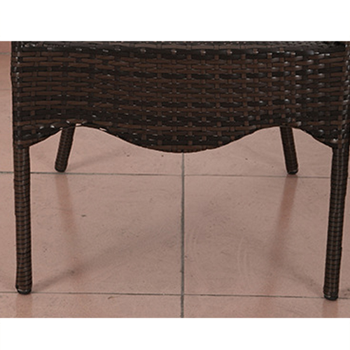 Outdoor Wicker 5 Piece Chair Set Image 8
