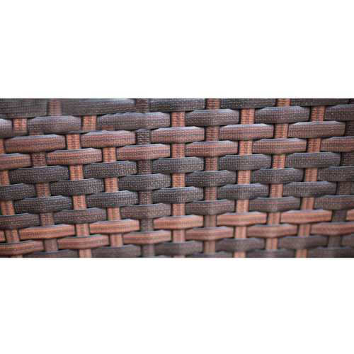 Alumix Outdoor Wicker Square 5-Piece Set Image 14