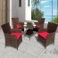 Alumix Outdoor Wicker Square 5-Piece Set Image 1