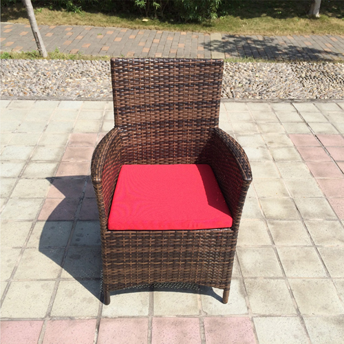 Alumix Outdoor Wicker Square 5-Piece Set Image 3