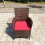 Alumix Outdoor Wicker Square 5-Piece Set