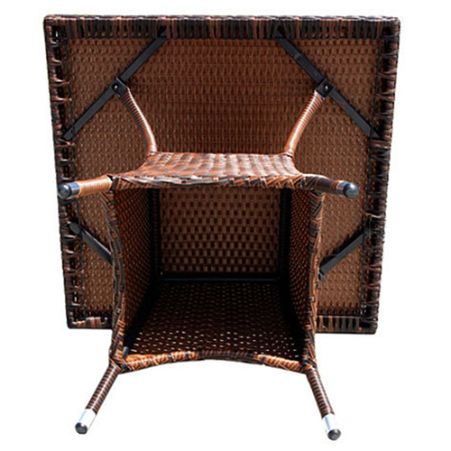 Alumix Outdoor Wicker Square 5-Piece Set Image 7